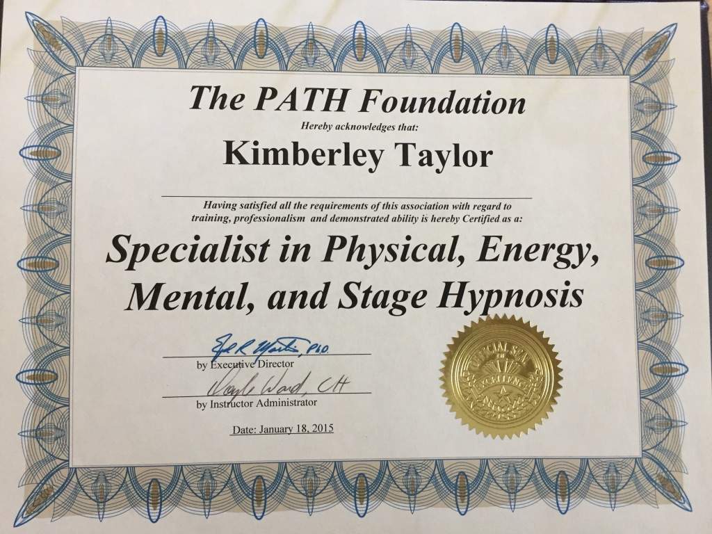 Specialist in Physical Energy Mental Stage Hypnosis