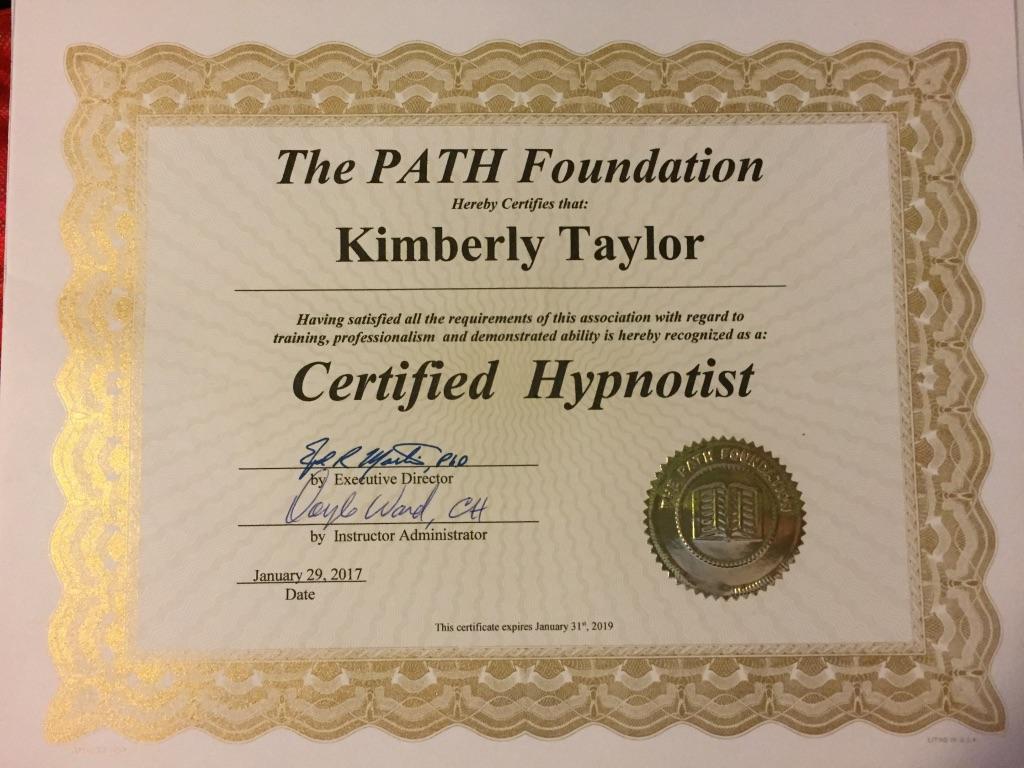 Certified Hypnotist 2017