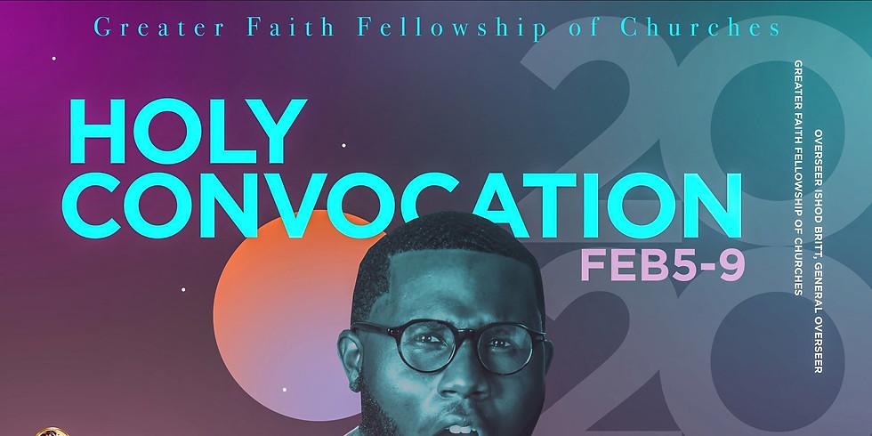 Greater Faith Fellowship Holy Convocation 2020