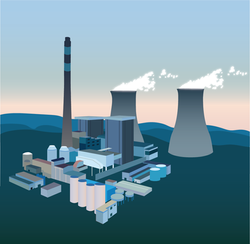 Nuclear - Digital Graphic