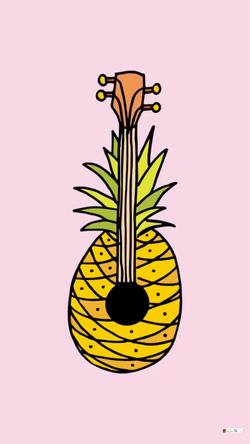 Pineapple - Hand Drawn Illustration