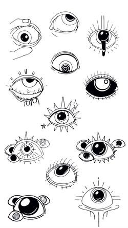 Full Sight - Hand Drawn Illustration