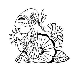 La Pupusarita - Logo