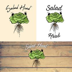 Salad Head Resturant - Logo Options