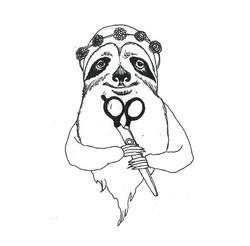 Sloth Salon - Logo Option