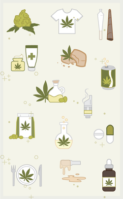 Cannabis Icon Pack