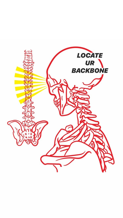 Locate Your Backbone - Digital Drawing