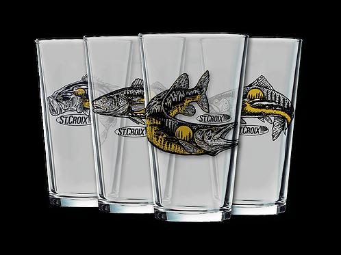 4pc Pint Glass Set