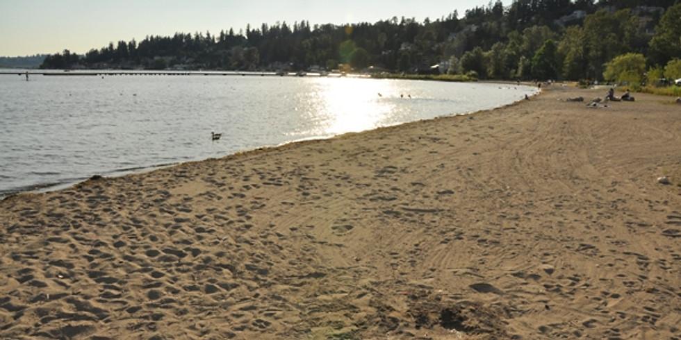 Family Shabbat on the Beach