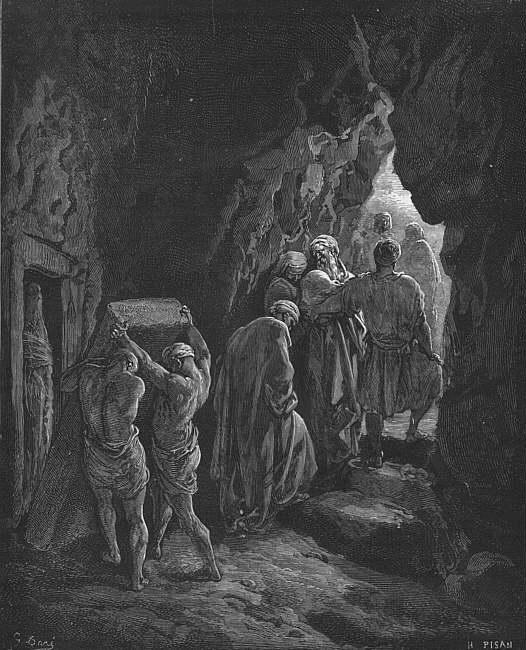 "Gustav Dore, ""Burial of Sarah"""