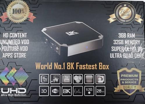 2021 - LIVE TV PRO 8K !!!  - 36 Months Included - $399 - Delivered