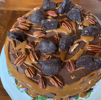 Turtle Tres Leche Cake