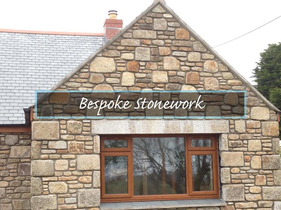 Cornish Bespoke Stonework. Specialist dry stone walling, traditional stonework and masonry services