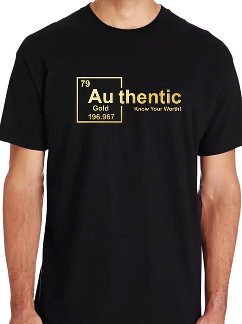 Authentic Gold (Foil) - Men's