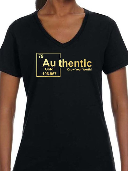 Authentic Gold (Foil) - Women's
