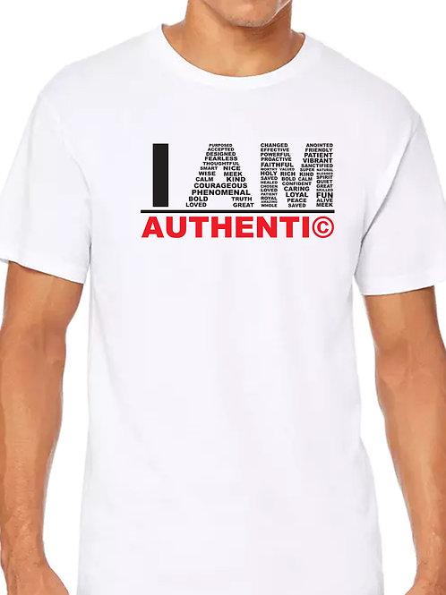 I am Authentic w/Bracelet- Men's