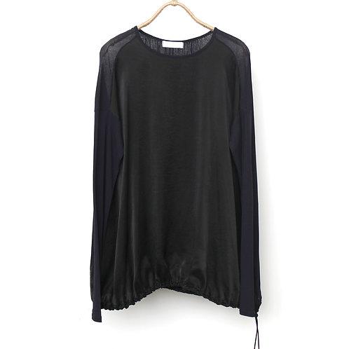 Silk×Cotton Chiffon Overdye 572339