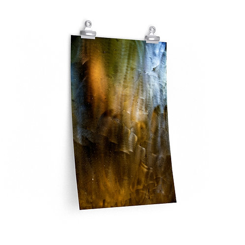 THIS PAIN IS THE LIGHT FIGHTING TO RETURN 03 Triptych - Premium Matte Print O.E.