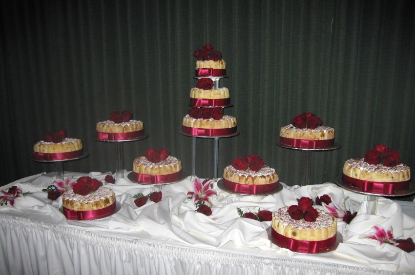Tiramisu Torte Display