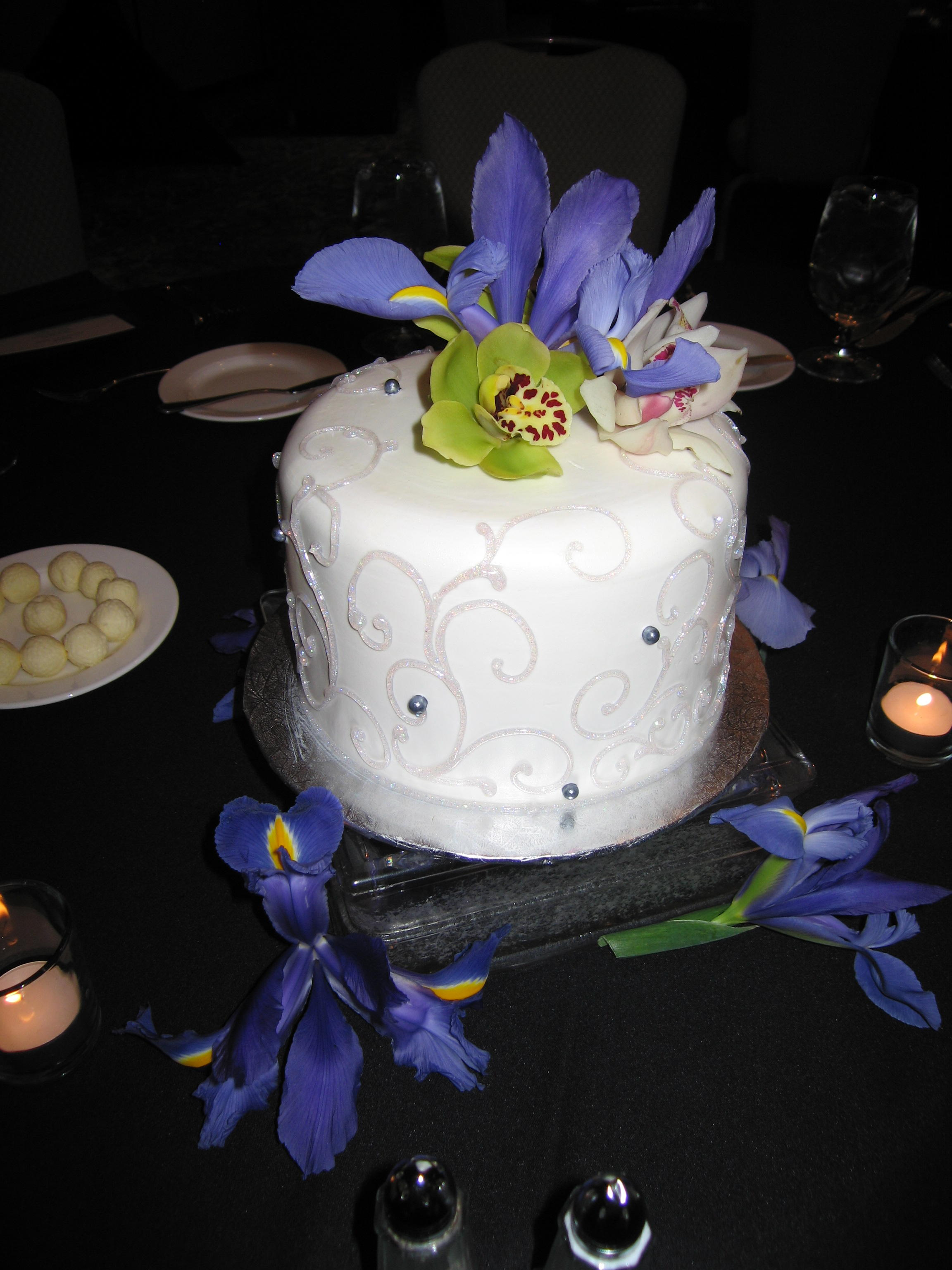 Crystal Orleans Table Cake