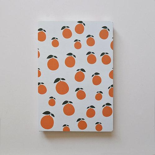 Geschenkspapier - Orangen