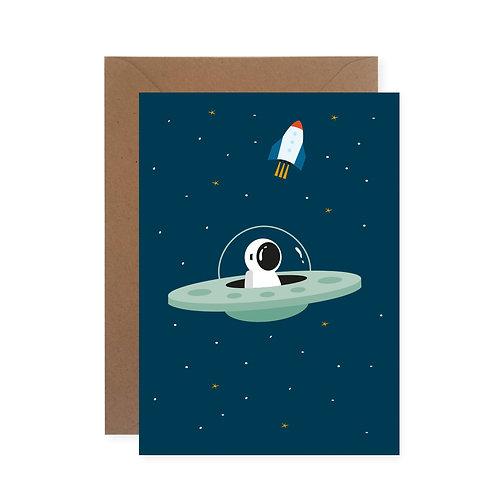 Postkarte - UFO