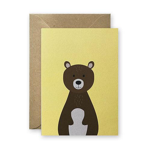 Postkarte - Bär
