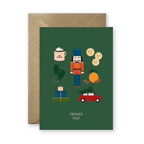 Postkarte - Weihnachtszeit