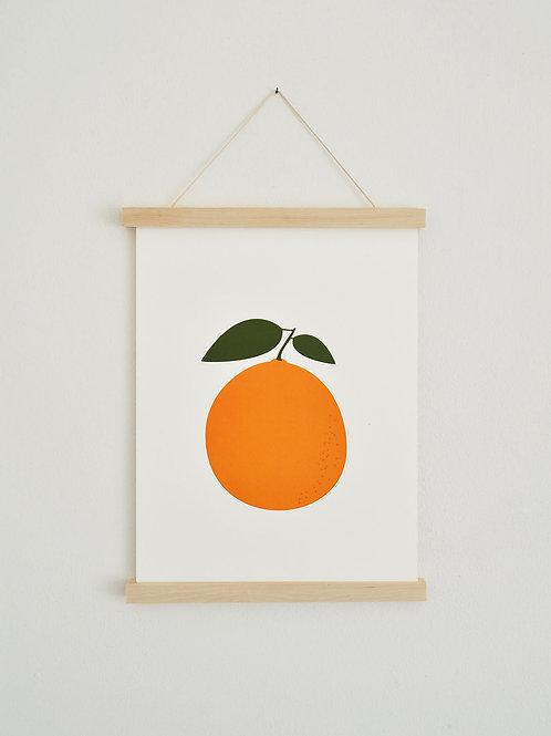 Poster - Orange