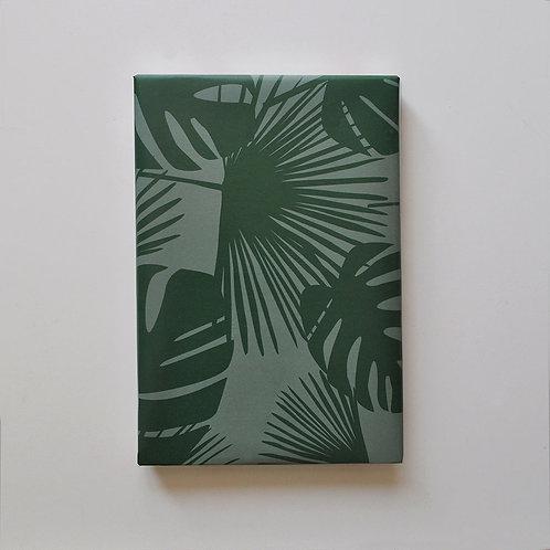 Geschenkpapier - Palmen-Monstera