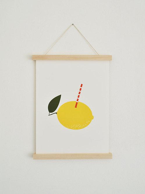 Poster - Zitronenfrisch