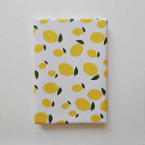 Geschenkpapier - Zitrone