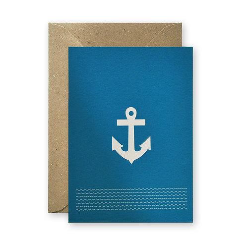 Postkarte - Anker