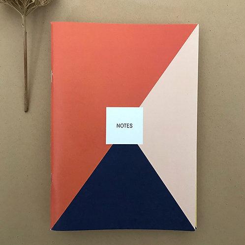 Notes - Dreiecke red