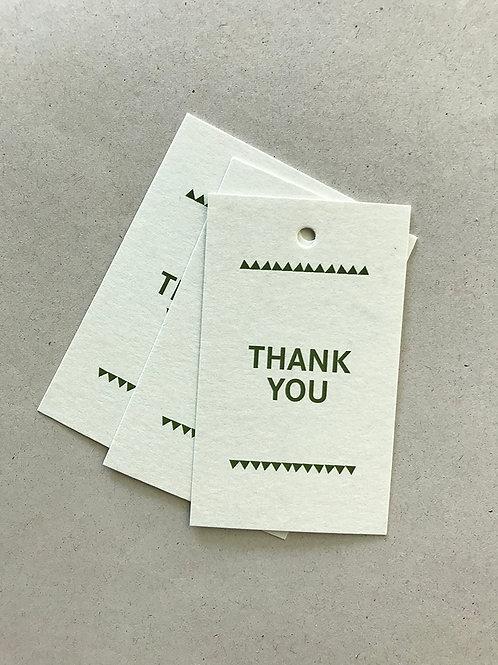 Paketanhänger – THANK YOU 02