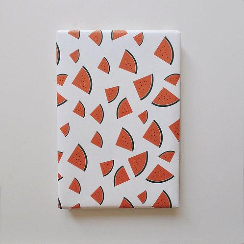 Geschenkpapier - Melone