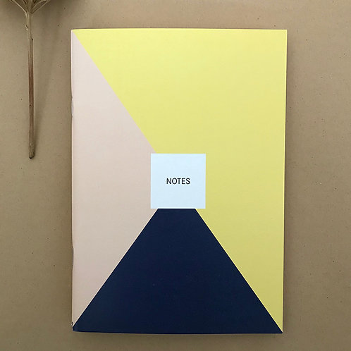 Notes - Dreiecke rose