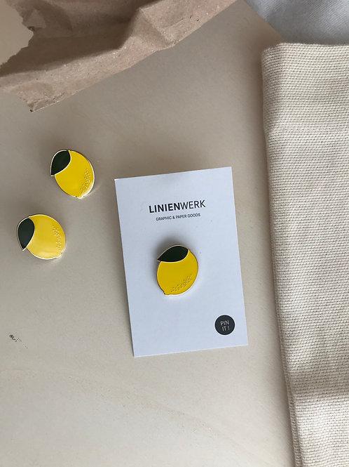 Zitronen Pin