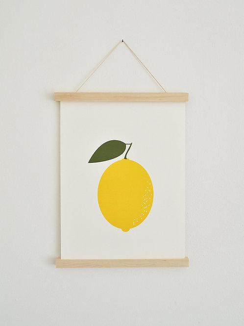 Poster - Zitrone