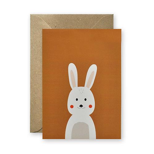 Postkarte - Hase