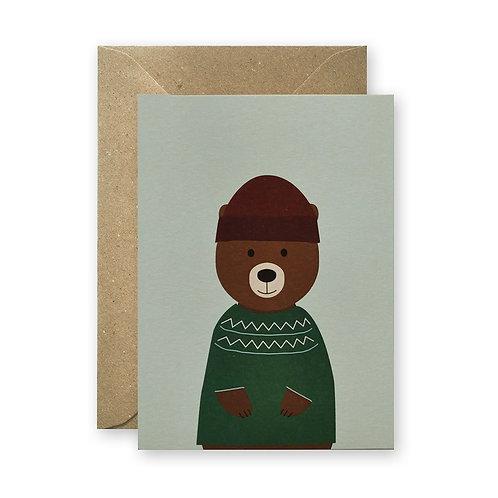 Postkarte – Pullibär