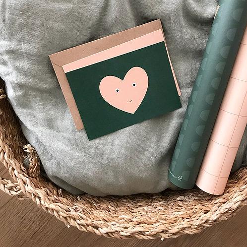 LOVE waldgrün