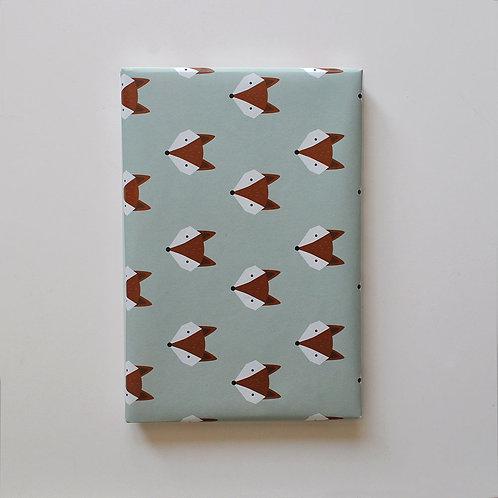 Geschenkspapier - Fuchs