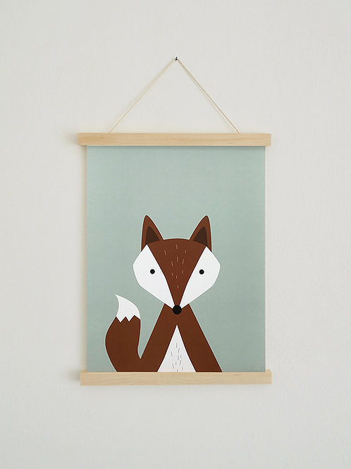 Poster - Fuchs