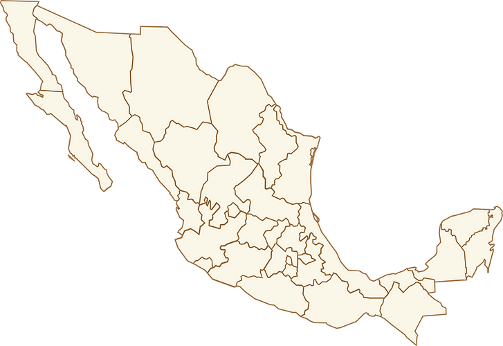 Emiliano's Mexico Map
