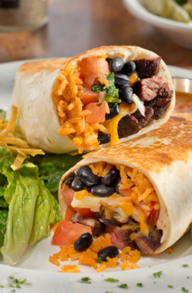 CALIFORNIA BURRITO WITH CARNE ASADA