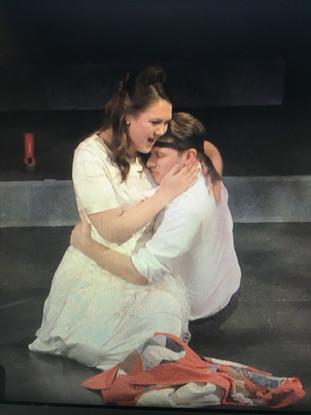 Masetto with Zerlina (Mary-Hollis Hundley)