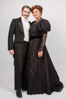 John Bagtry with Regina (Susan Graham)
