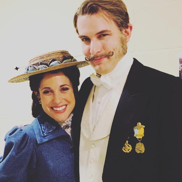 John Bagtry and Alexandra Giddens (Monica Dewey)