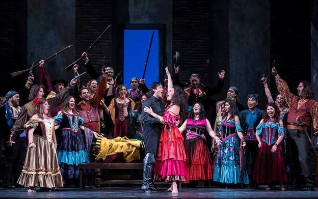 CARMEN, Opera Santa Barbara, 2016